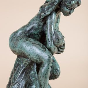 La Maternité -Maternity | Matière: Bronze | Taille: 35 x 3 cm | Année: 2010