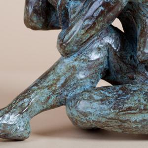 Le Chagrin -Sorrow| Matière: Bronze | Taille: 29 x 19 cm | Année: 2009