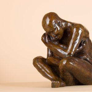 Le Père - The Father | Matière: Bronze | Taille: 25 x 20 cm | Année: 2011