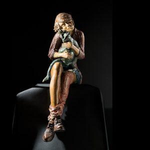 L'Art d'Aimer | Matière: Bronze | Taille: 86H x 45P x 23L cm | Année: 2017