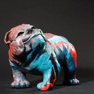 ArtDog | Matière: Bronze | Taille: 34H x 44P x 35L cm | Année: 2017