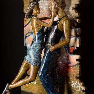 Le Tag   Matière: Bronze    Taille: 82H x 44P x 71L cm   Année: 2016